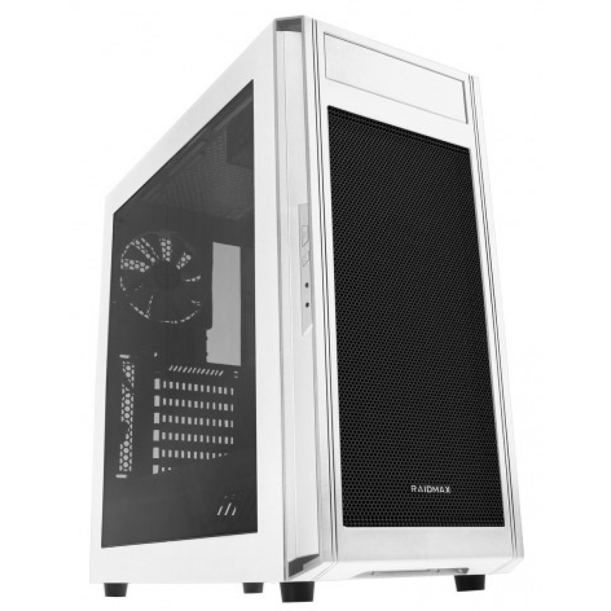 Gabinete RaidMax Alpha Lite A15SWW C/janela Mid Tower Branco S/fonte