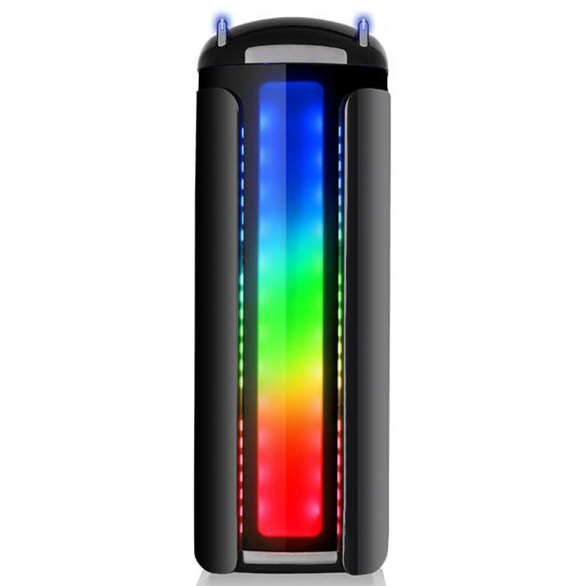 Gabinete Gamer Thermaltake Versa C22 RGB, Mid Tower, Com 1 Fan, Black, Sem Fonte, CA-1G9-00M1WN-00