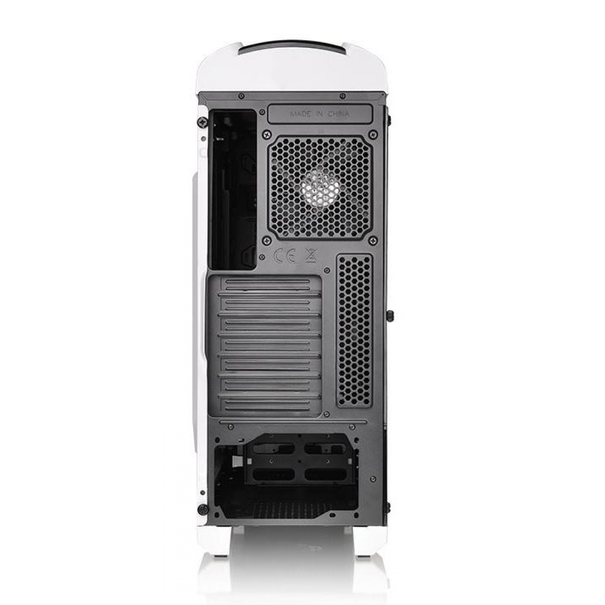 Gabinete Gamer Thermaltake Versa C22 RGB Snow Edition, Mid Tower, Com 1 Fan, White, Sem Fonte, CA-1G9-00M6WN-03