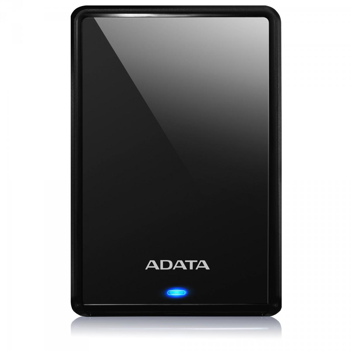 HD Externo Portátil Adata HV620S 2TB, USB 3.2, Black , AHV620S-2TU31-CBK