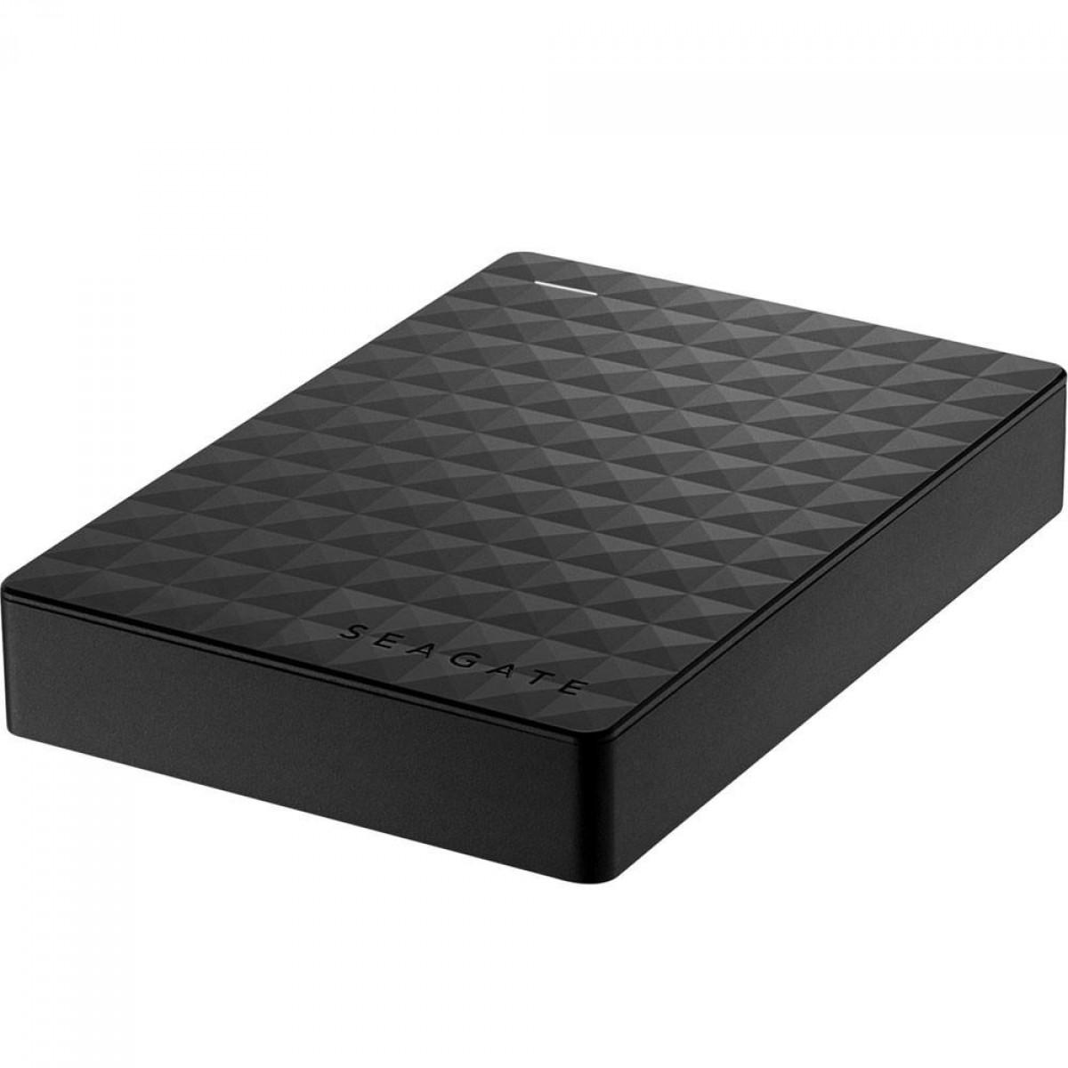 HD Externo Portátil Seagate Expansion 4TB USB 3.0 Preto, STEA4000400