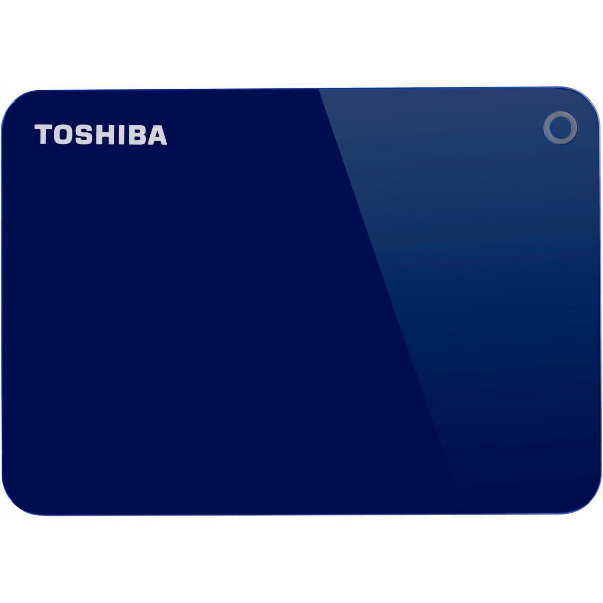 HD Externo Portátil Toshiba Canvio Advance 1TB HDTC910XL3AA USB 3.0 Azul