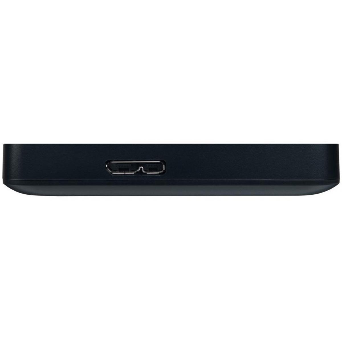 HD Externo Portátil Toshiba Canvio Basics 2TB HDTB420XK3AA USB 3.0 Preto