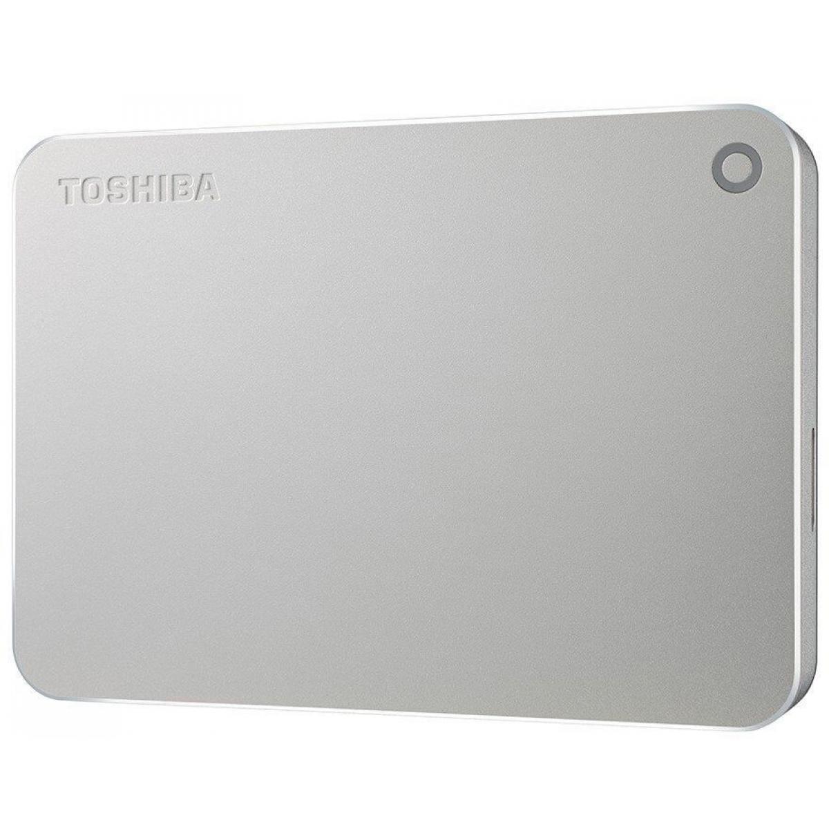 HD Externo Portátil Toshiba Canvio Premium 2TB HDTW120XC3C1 USB 3.0 Prata