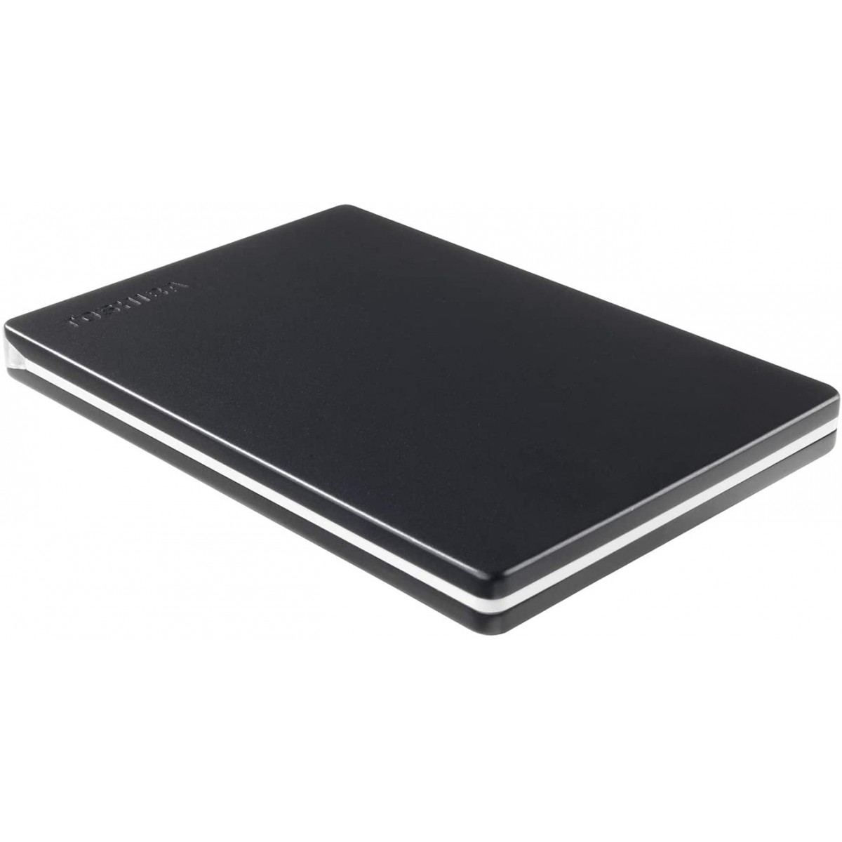 HD Externo Portátil Toshiba Canvio Slim 1TB USB 3.0, Black, HDTD310XK3DA