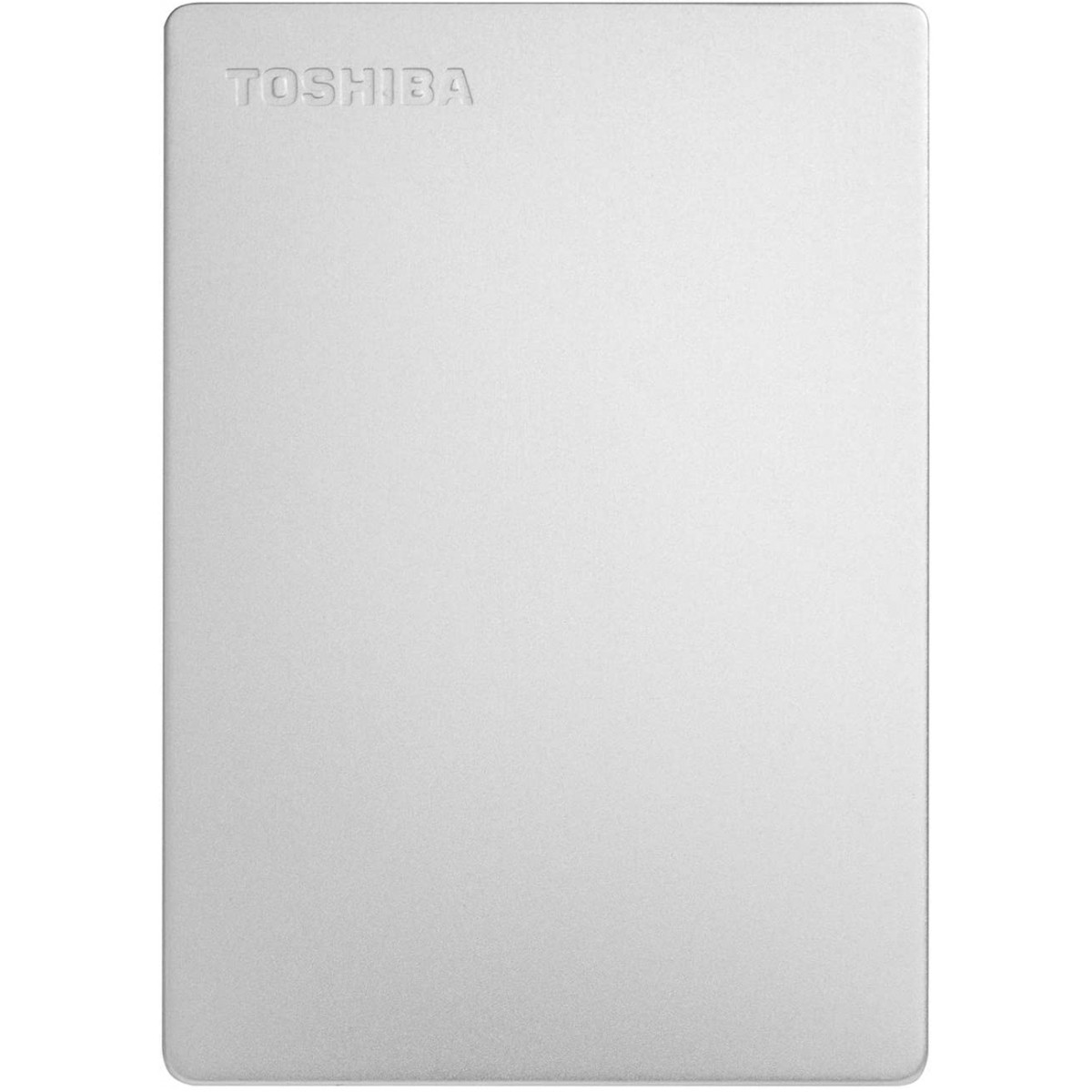 HD Externo Portátil Toshiba Canvio Slim 1TB USB 3.0, Silver, HDTD310XS3DA