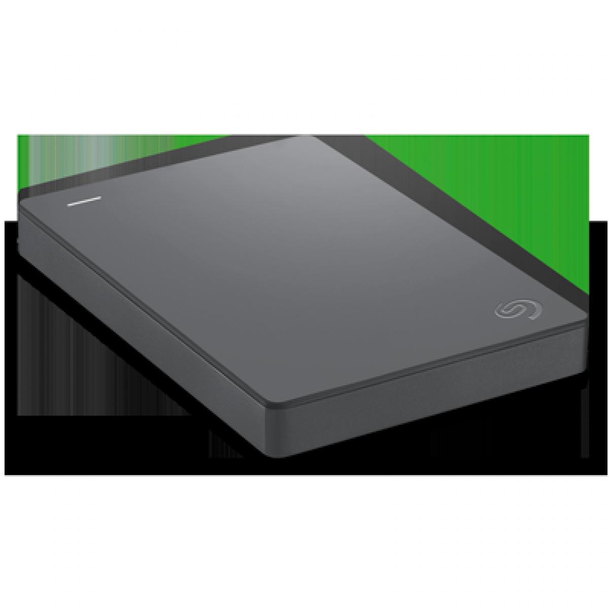 HD Externo Seagate Basic, 1TB, USB 3.0, Black, STJL1000400