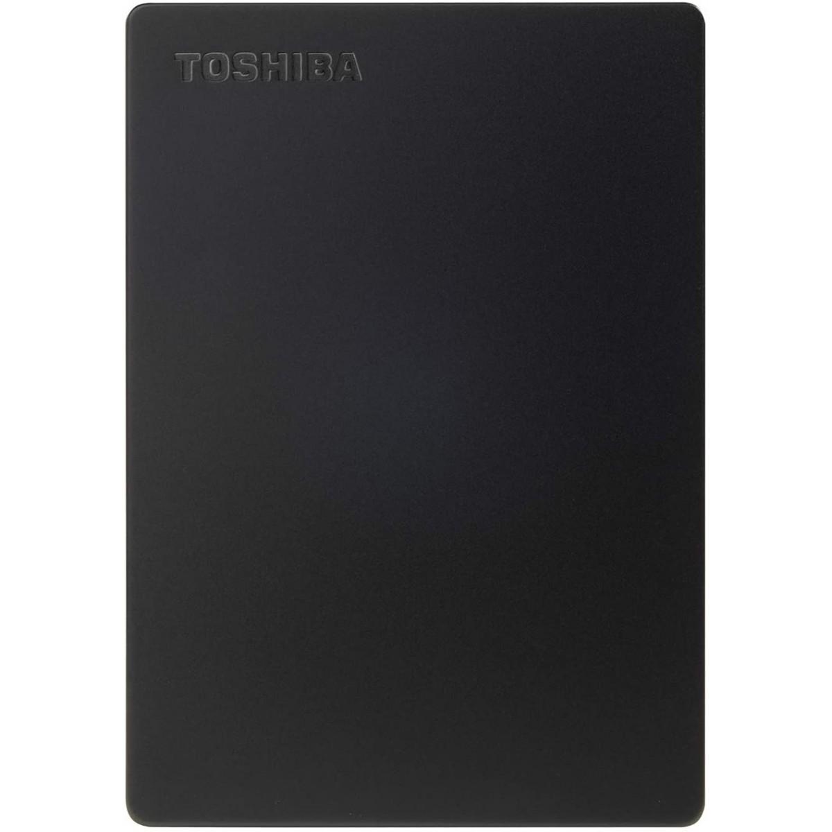 HD Externo Toshiba Canvio Slim 2TB, USB 3.0, Até 5Gb/s, HDTD320XK3EA