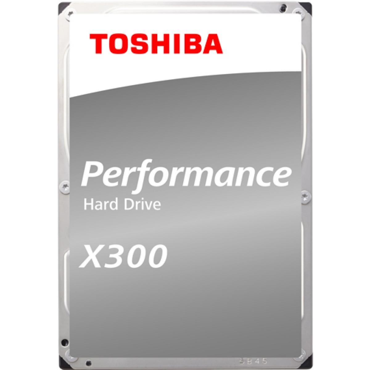 HD Toshiba 4TB X300 Performance e Gaming HDWE140XZSTA 7200 RPM 128MB Sata III Box