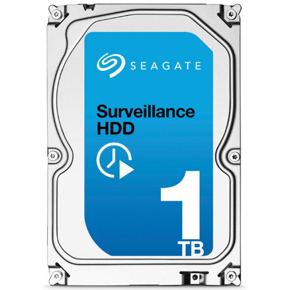 HD Seagate 1TB Surveillance HDD ST1000VX000 7200RPM 64MB SATA III