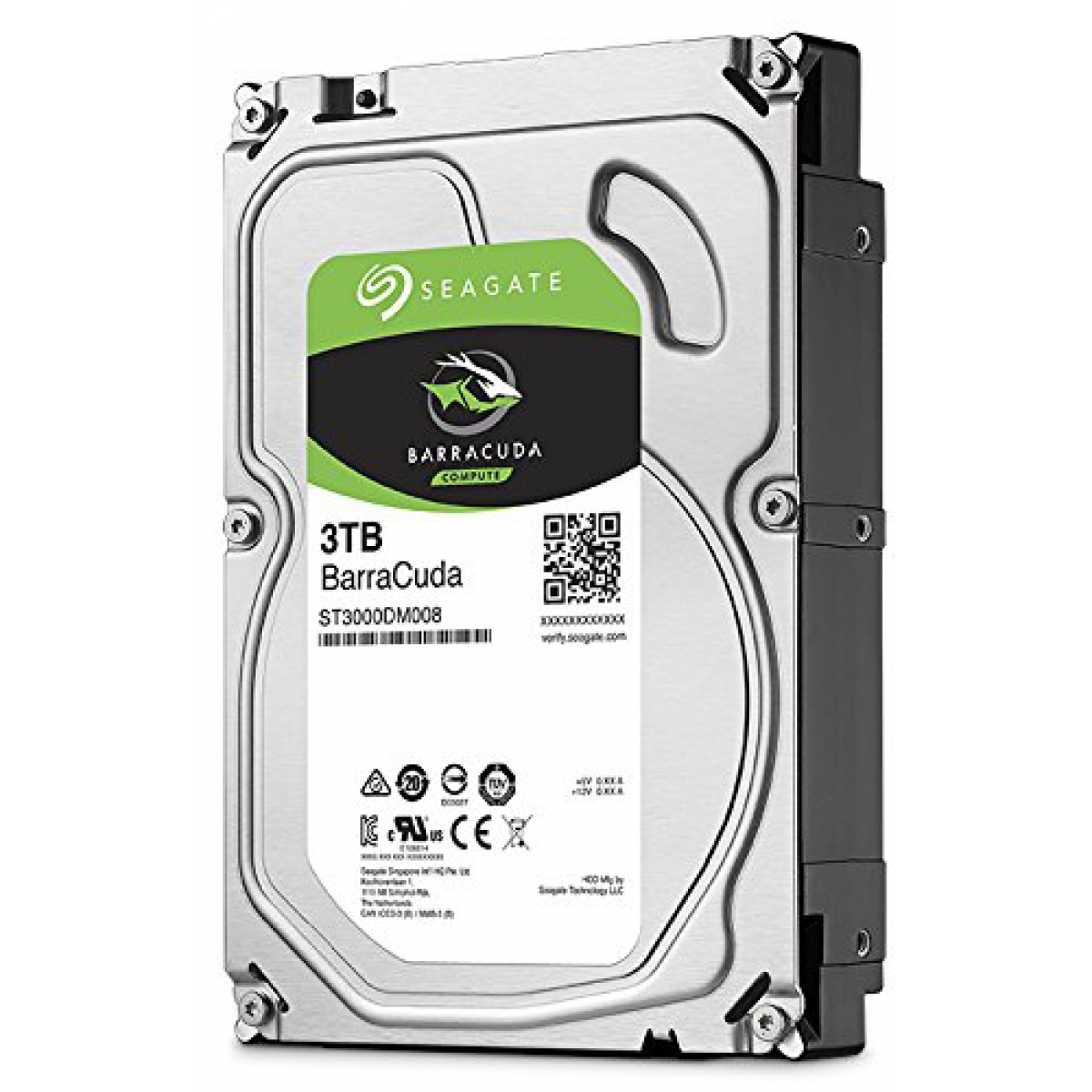 HD Seagate BarraCuda 3TB, Sata III, 7200RPM, 64MB, ST3000DM008