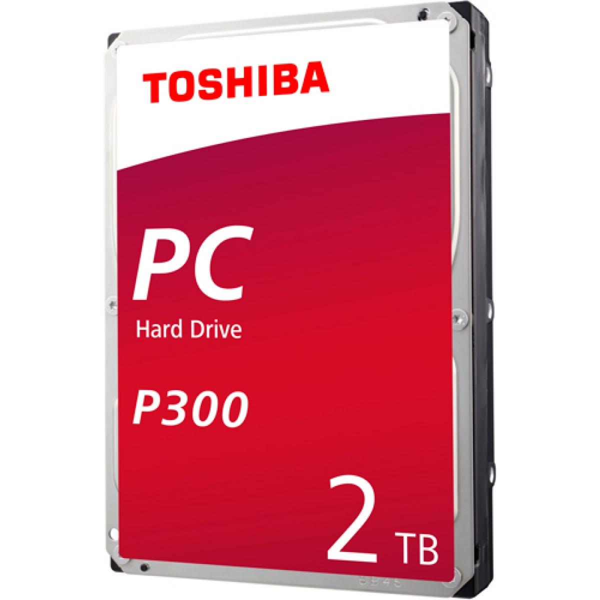 HD Toshiba P300 2TB, Sata III, 7200RPM, 64MB, HDWD120XZSTA - Open Box