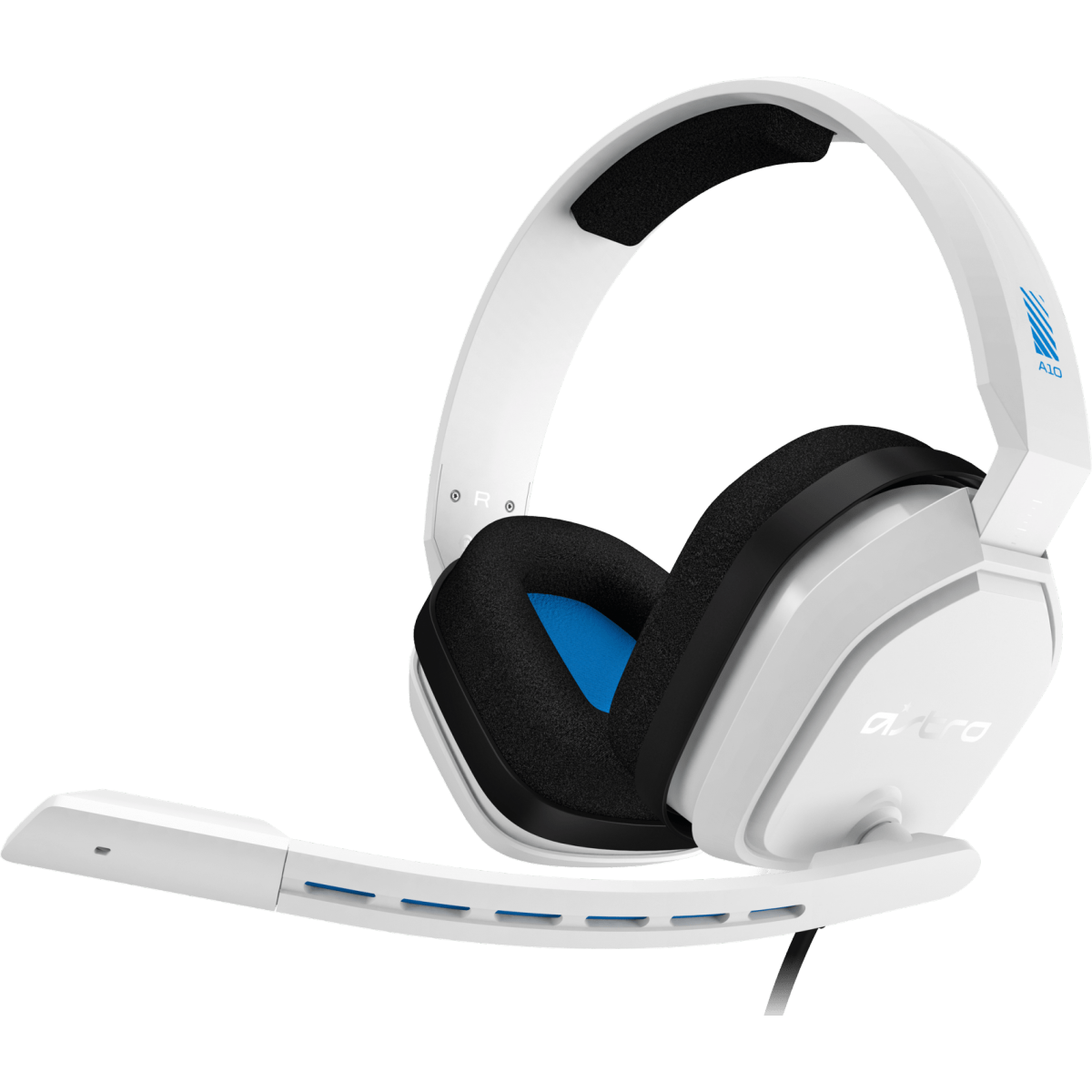 Headset Gamer Astro A10, White/Blue, 939-001853
