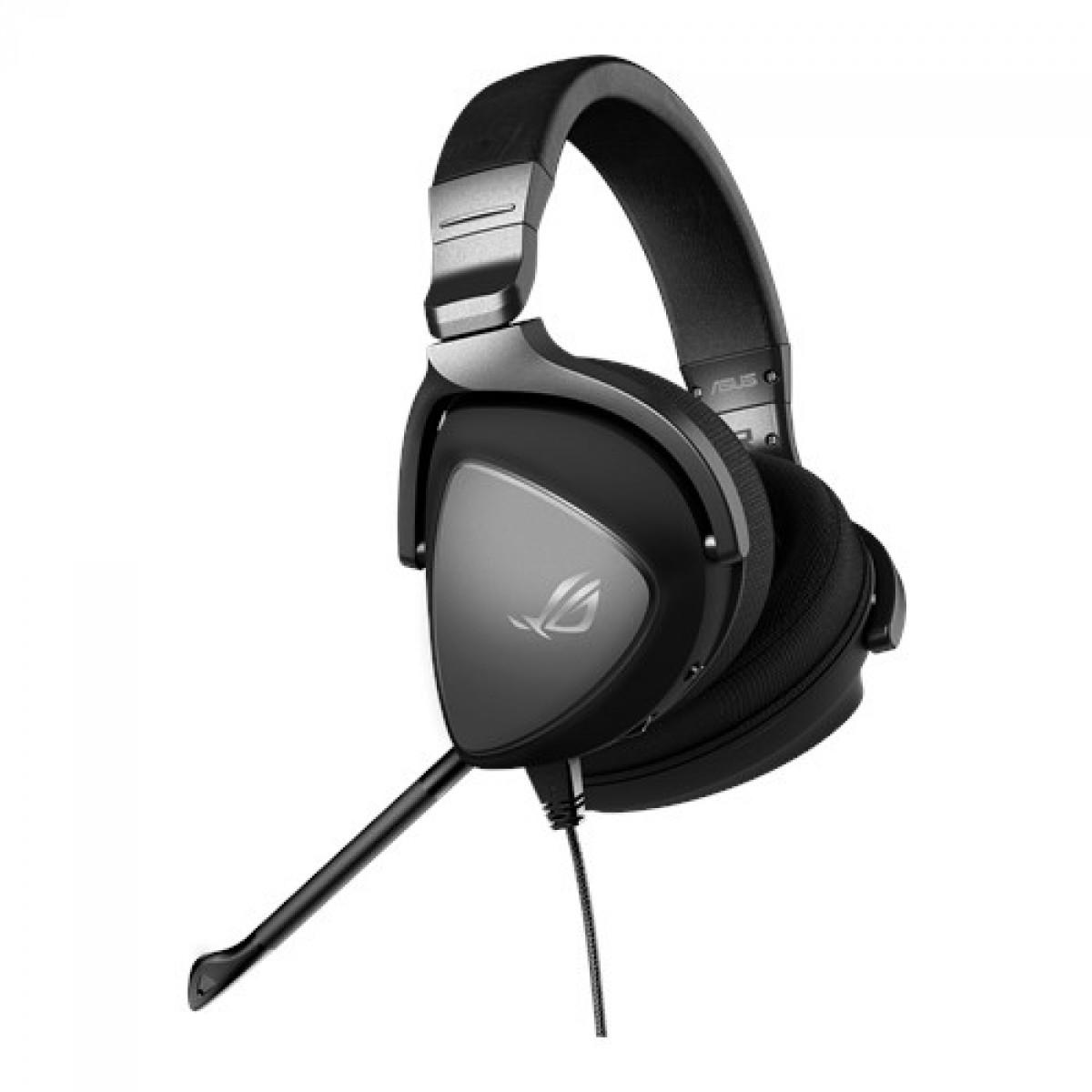 Headset Gamer Asus, ROG Delta Core, 3.5mm, Black, 90YH00Z1-B1UA00, Open Box