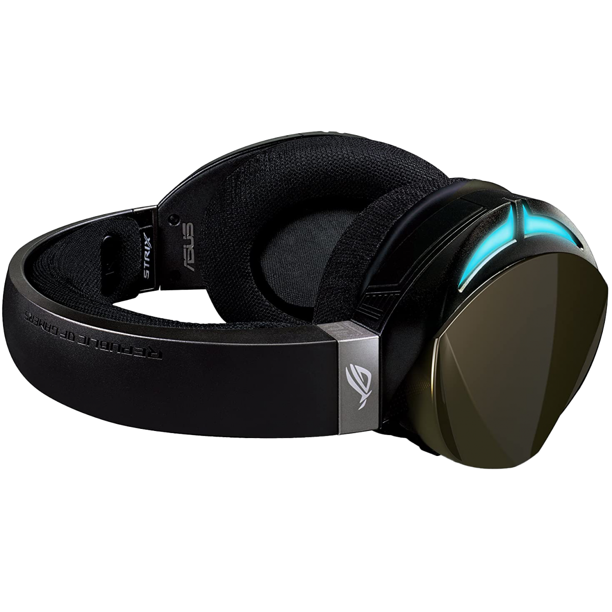 Headset Gamer Asus, ROG Strix Fusion 500, 7.1 Surround, RGB, Black, 90YH00Z2-B8UA00