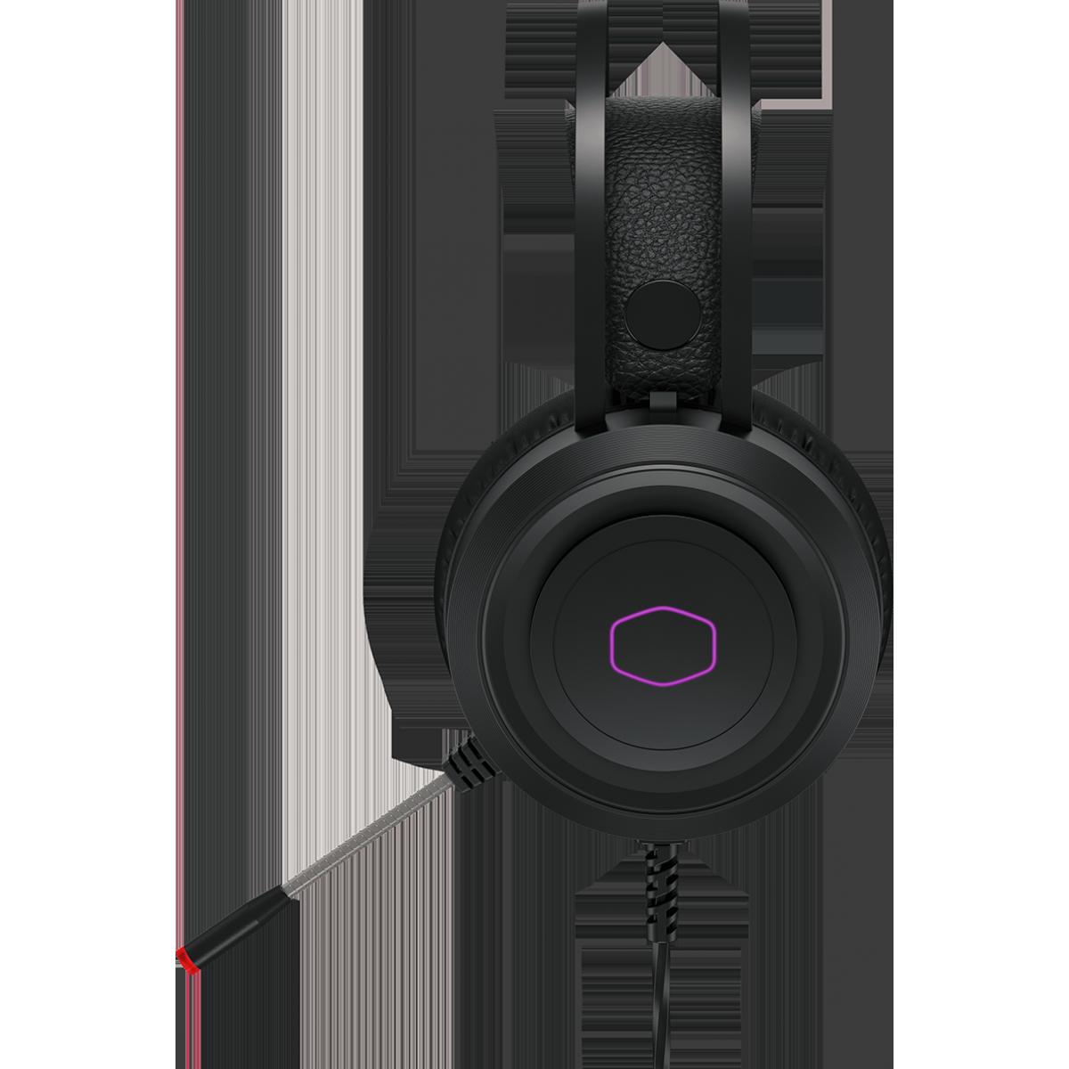 Headset Gamer Cooler Master CH321 USB, RGB, Drivers 50mm, Preto, CH-321
