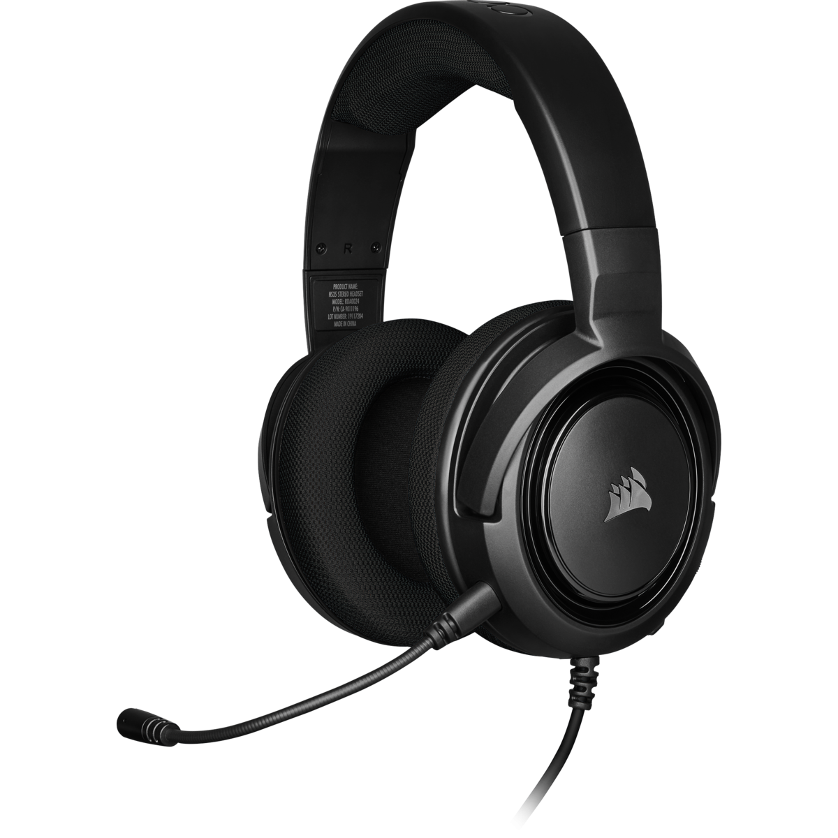 Headset Gamer Corsair HS35 Stereo Carbon, CA-9011195-NA