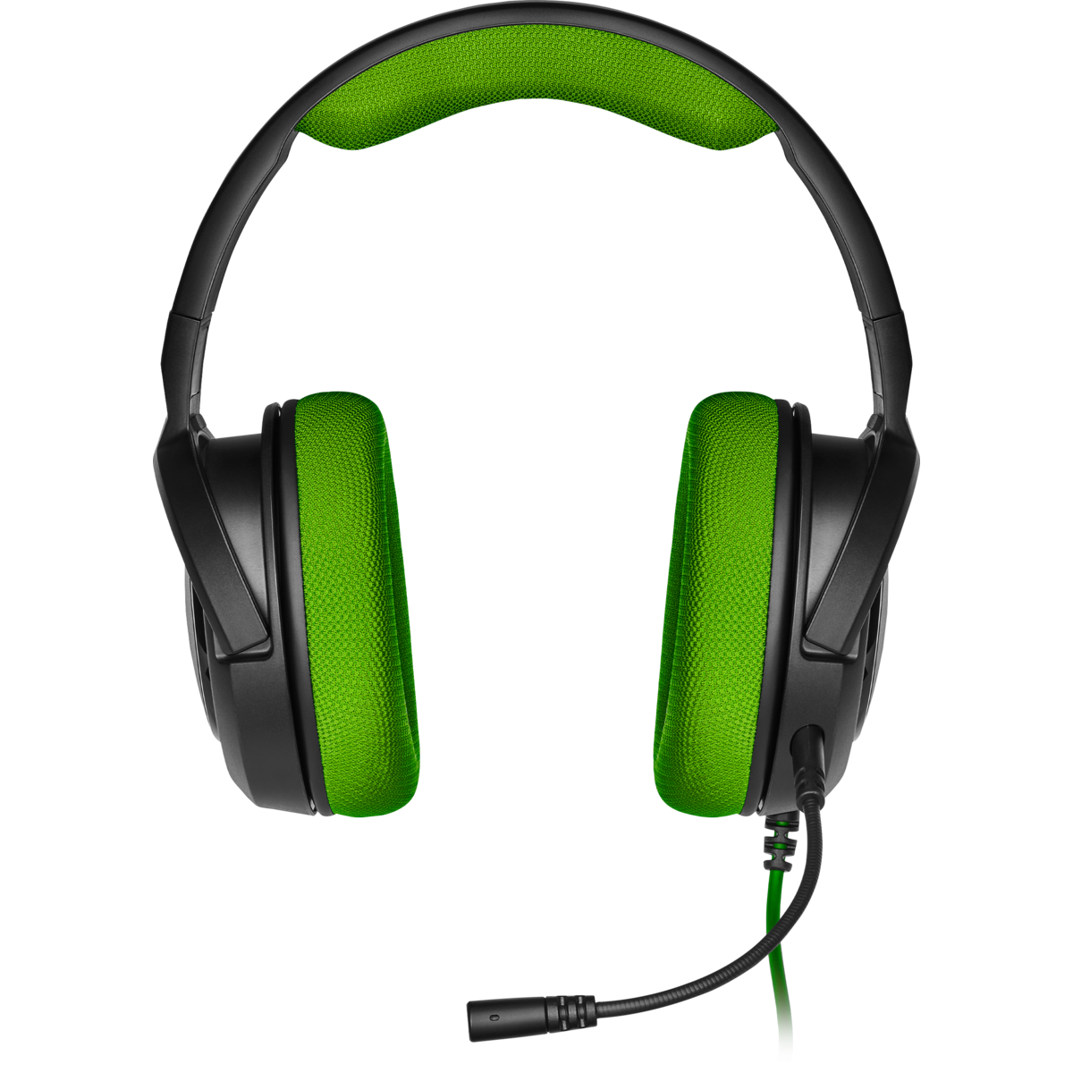 Headset Gamer Corsair HS35 Stereo Green, CA-9011197-NA