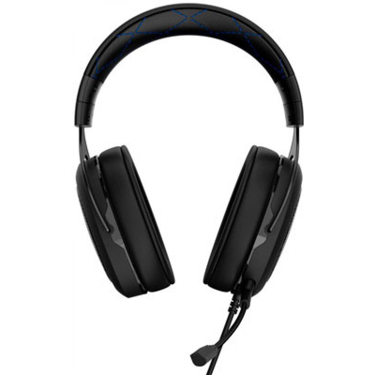 Headset Gamer Corsair HS50 Blue CA-9011172-NA