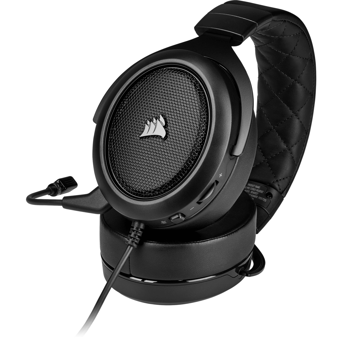Headset Gamer Corsair HS50 Pro Stereo Carbon, CA-9011215-EU