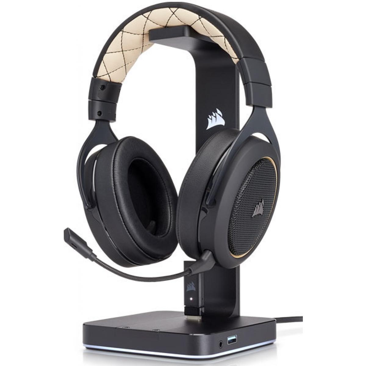 Headset Gamer Corsair HS70 Wireless 7.1 USB CA-9011178-NA Preto - Open Box