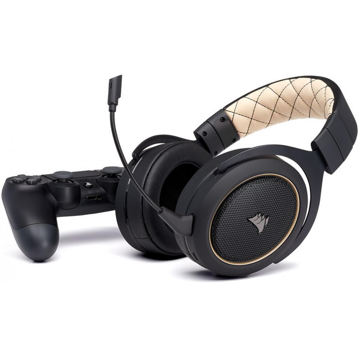 Headset Gamer Corsair HS70 Wireless 7.1 USB CA-9011178-NA Preto