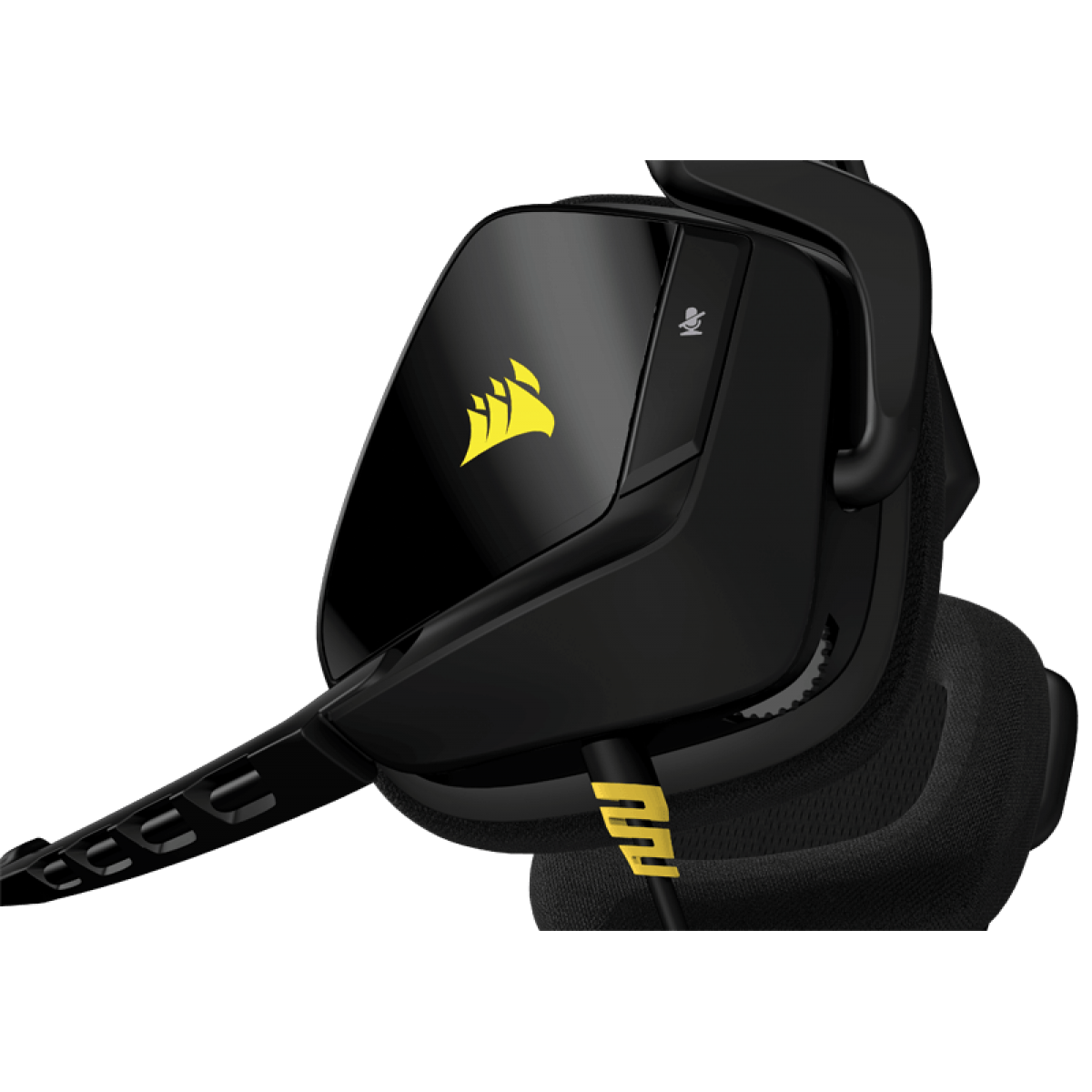 Headset Gamer Corsair Void 2.0 Stereo Yellow/Black CA-9011131-NA