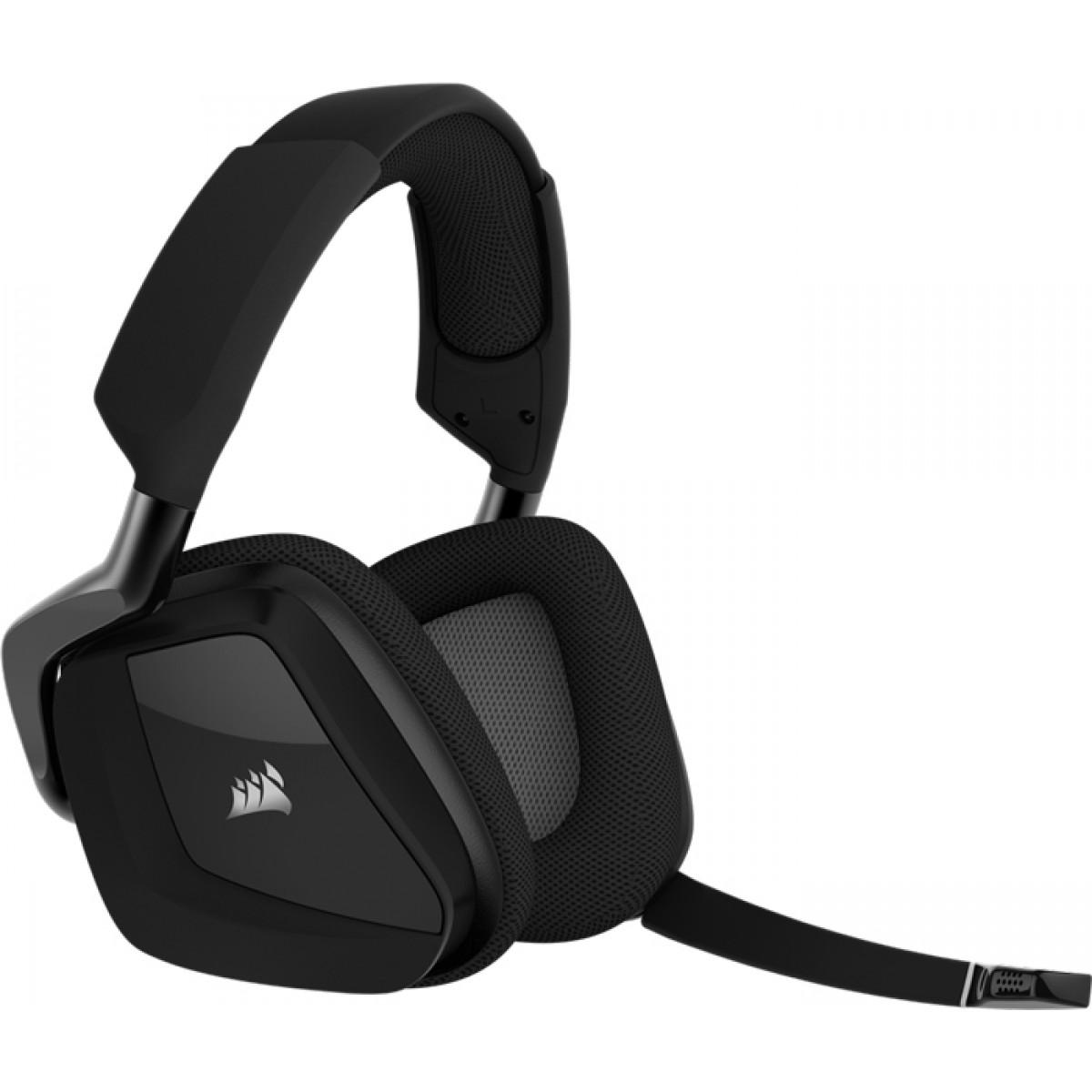 Headset Gamer Corsair Void Pro RGB, Dolby 7.1, Wireless, Black, CA-9011152-NA