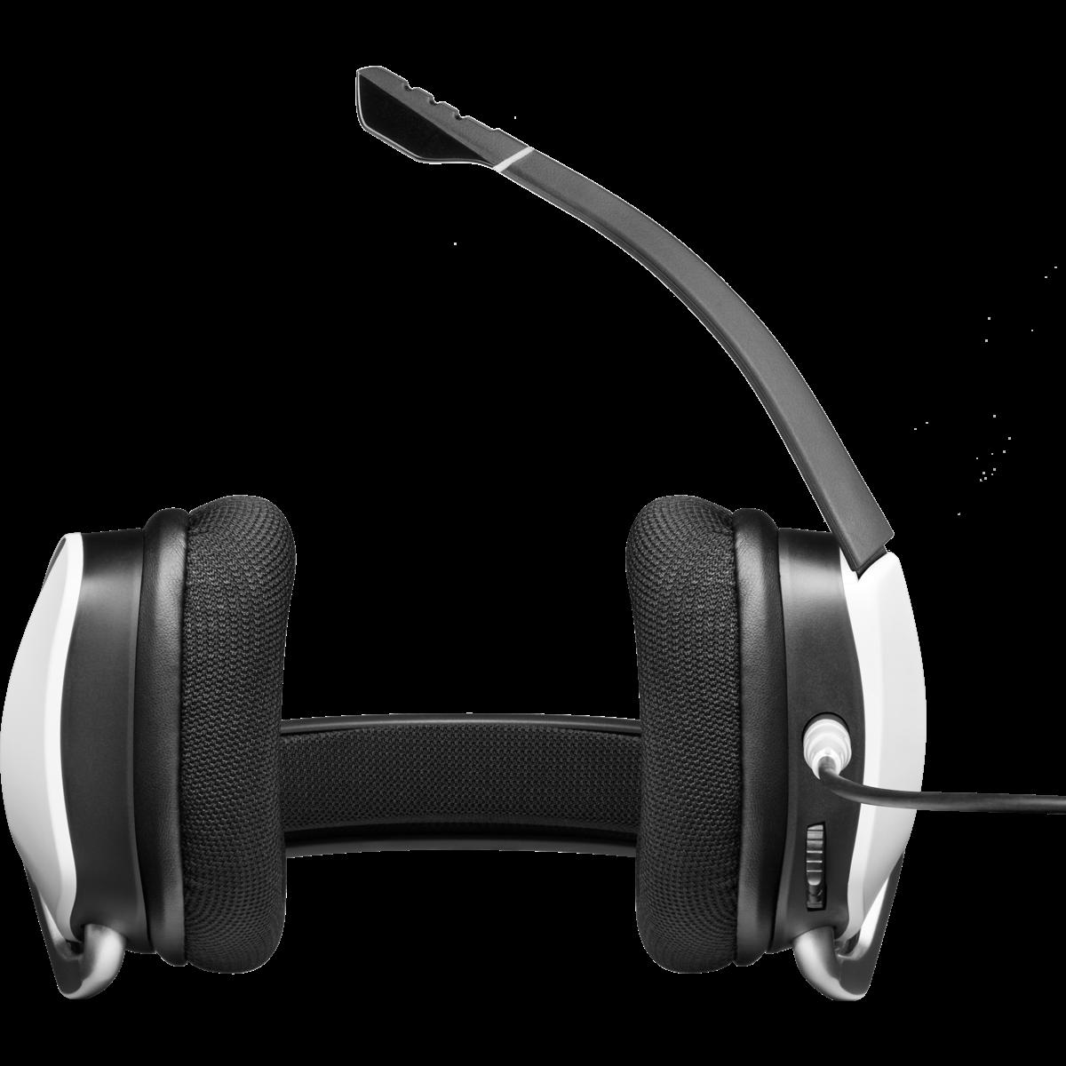 Headset Gamer Corsair Void RGB Elite, 7.1 Surround, White, CA-9011204-NA