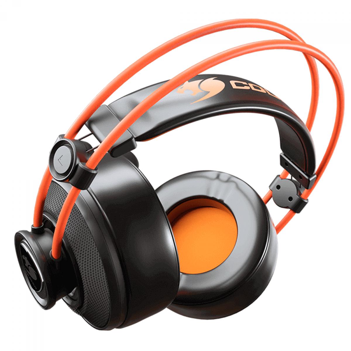 Headset Gamer Cougar Immersa Ti, 3.5mm, Multi Plataforma, CGR-P40NB-310