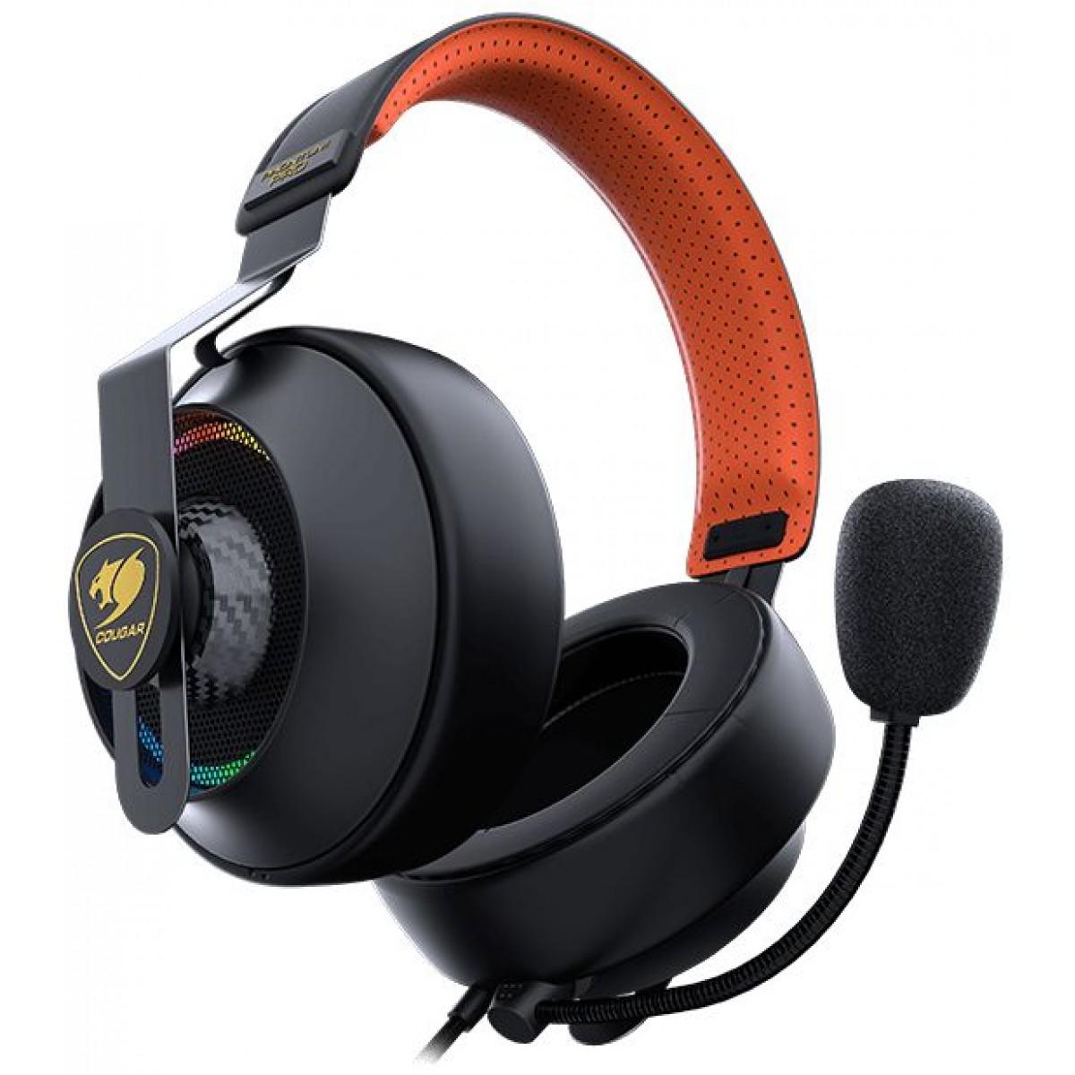 Headset Gamer Cougar Phontum Pro, RGB, 7.1 Surround, 3H800P53B.0001