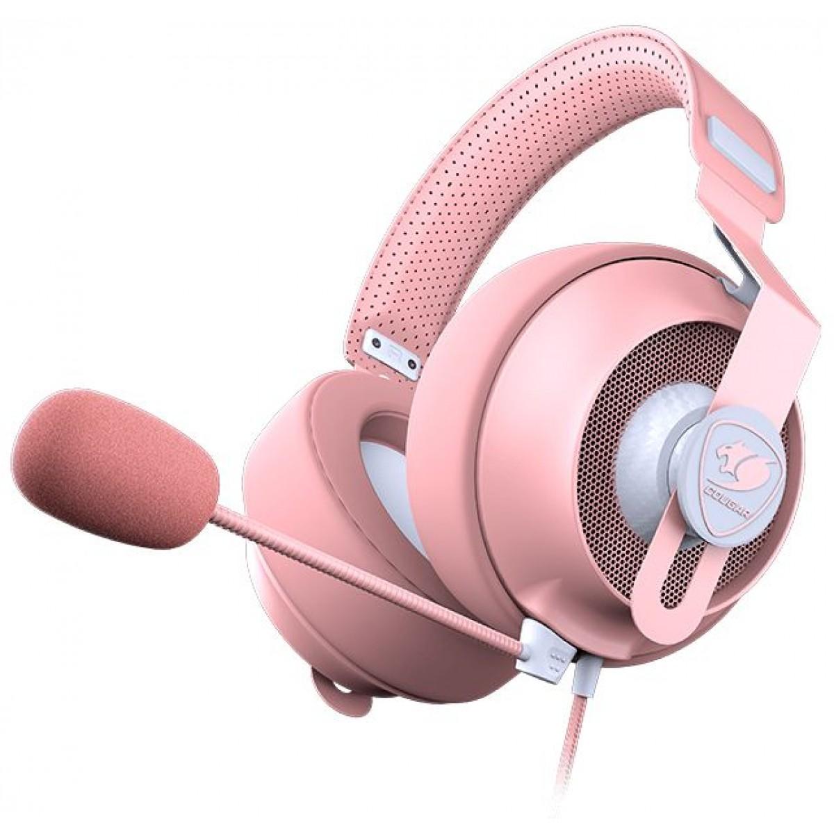 Headset Gamer Cougar Phontum S, Pink, 3H500P53P-0001