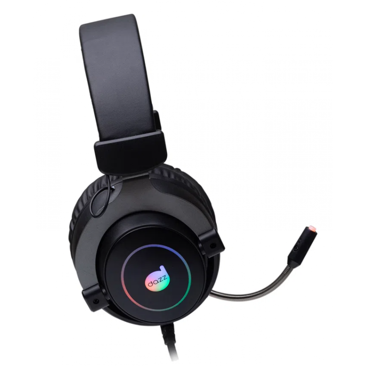 Headset Gamer Dazz Immersion, Com Fio, USB, Black