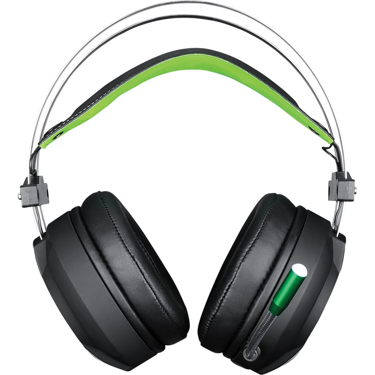 Headset Gamer DAZZ Savage 7.1 625131 Preto/Verde