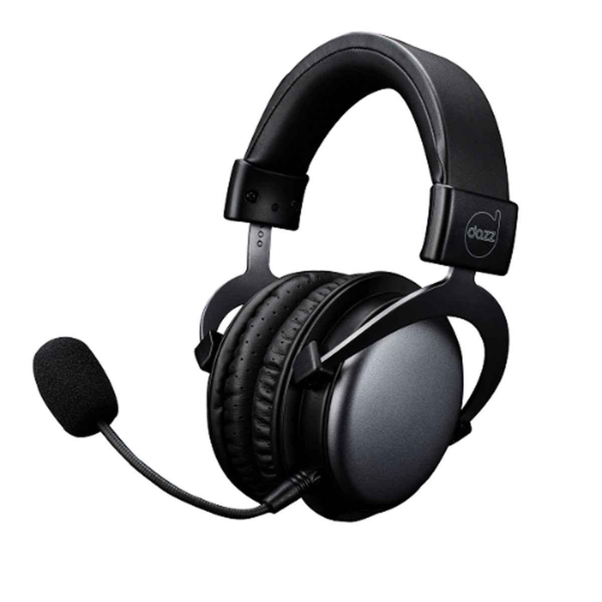 Headset Gamer Dazz, Viper Black, 3.5mm, Multiplataforma, Black, 62000013