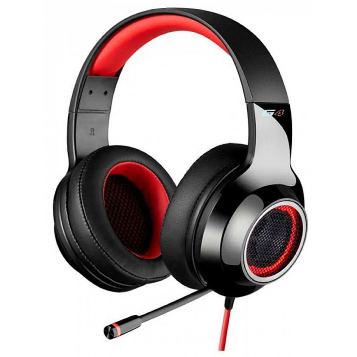 Headset Gamer Edifier G4, 7.1 USB, Black-Red