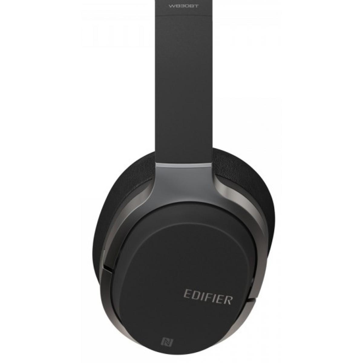 Headset Gamer Edifier W830BT, Bluetooth, Black - Open Box