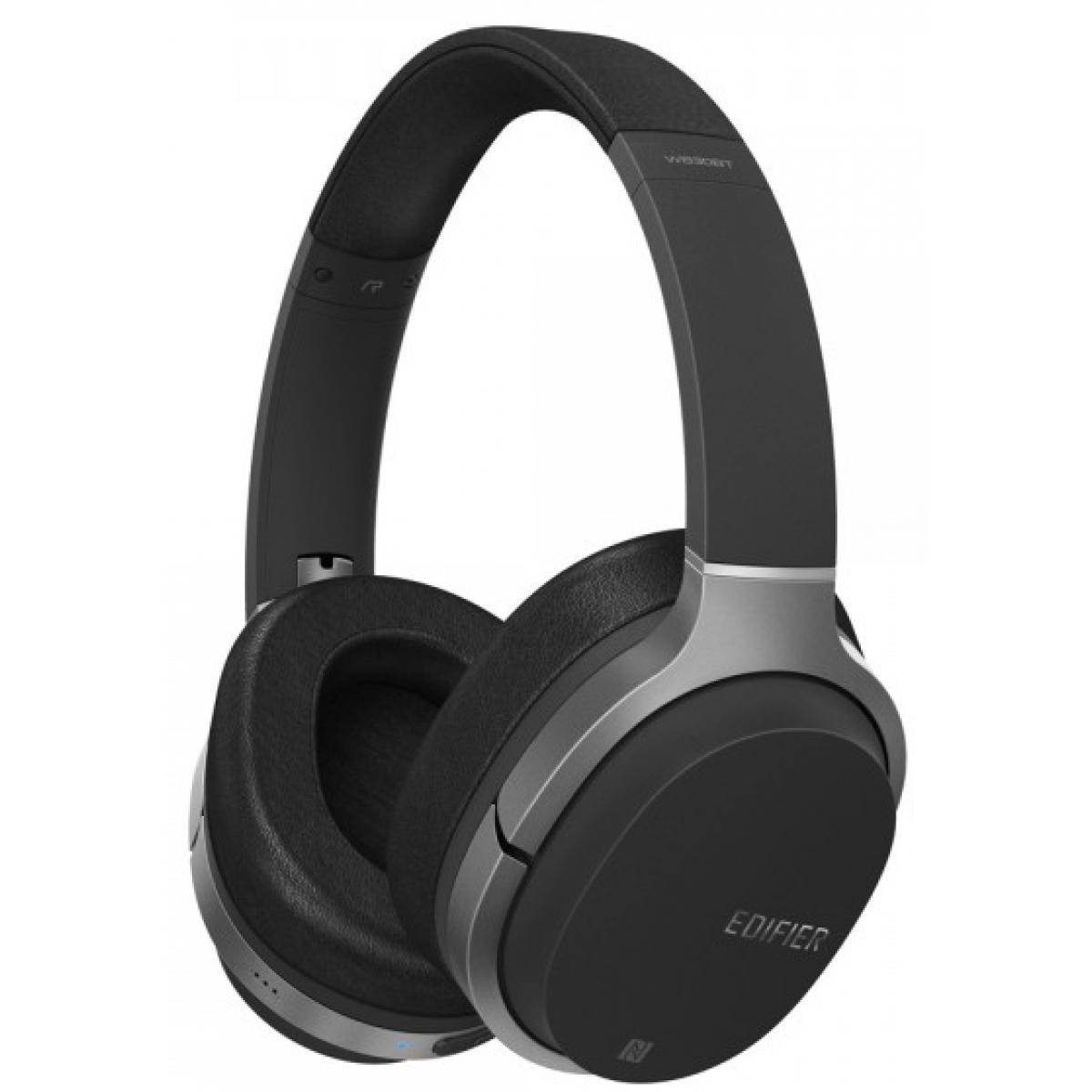 Headset Gamer Edifier W830BT, Bluetooth, Black