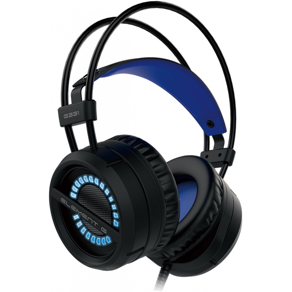 Headset Gamer Element G Single Color Azul G331