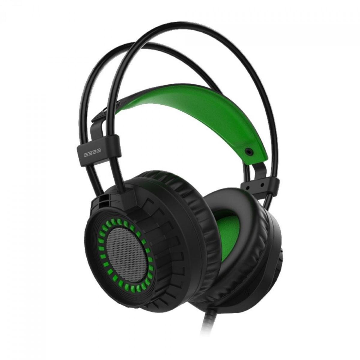 Headset Gamer Element G Single Color Verde G330 - Open Box