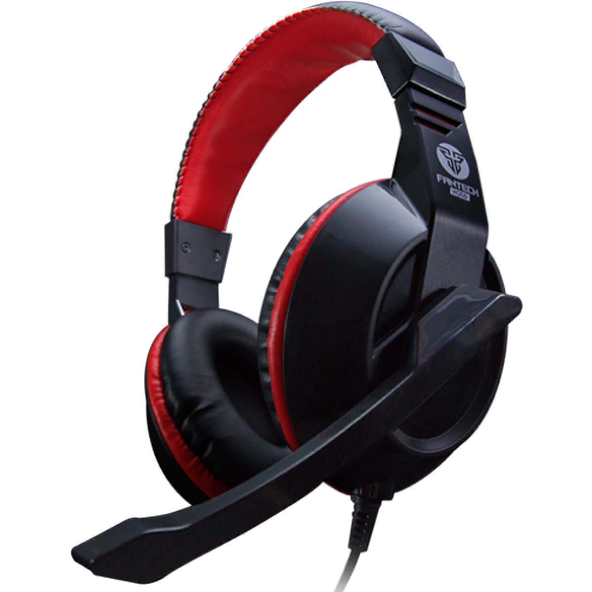 Headset Gamer Fantech Mars, 2x3.5mm, Black/RED, HQ50