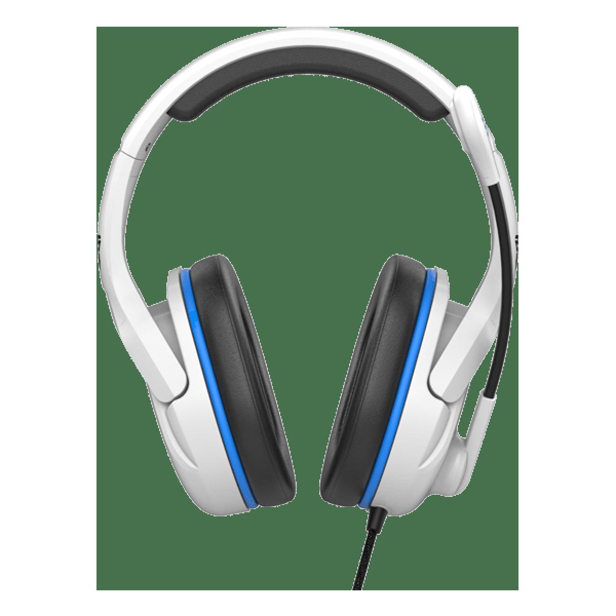 Headset Gamer Fantech Valor Space Edition, 3.5mm + USB, White/Blue, MH86
