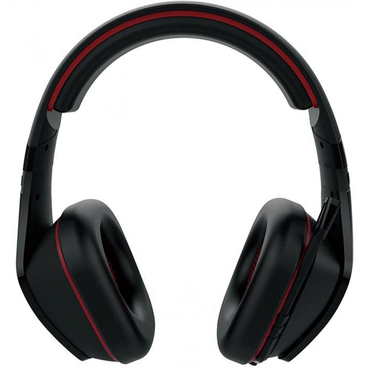 Headset Gamer Gamdias Eros E1 RGB EROS-E1 Preto/Vermelho