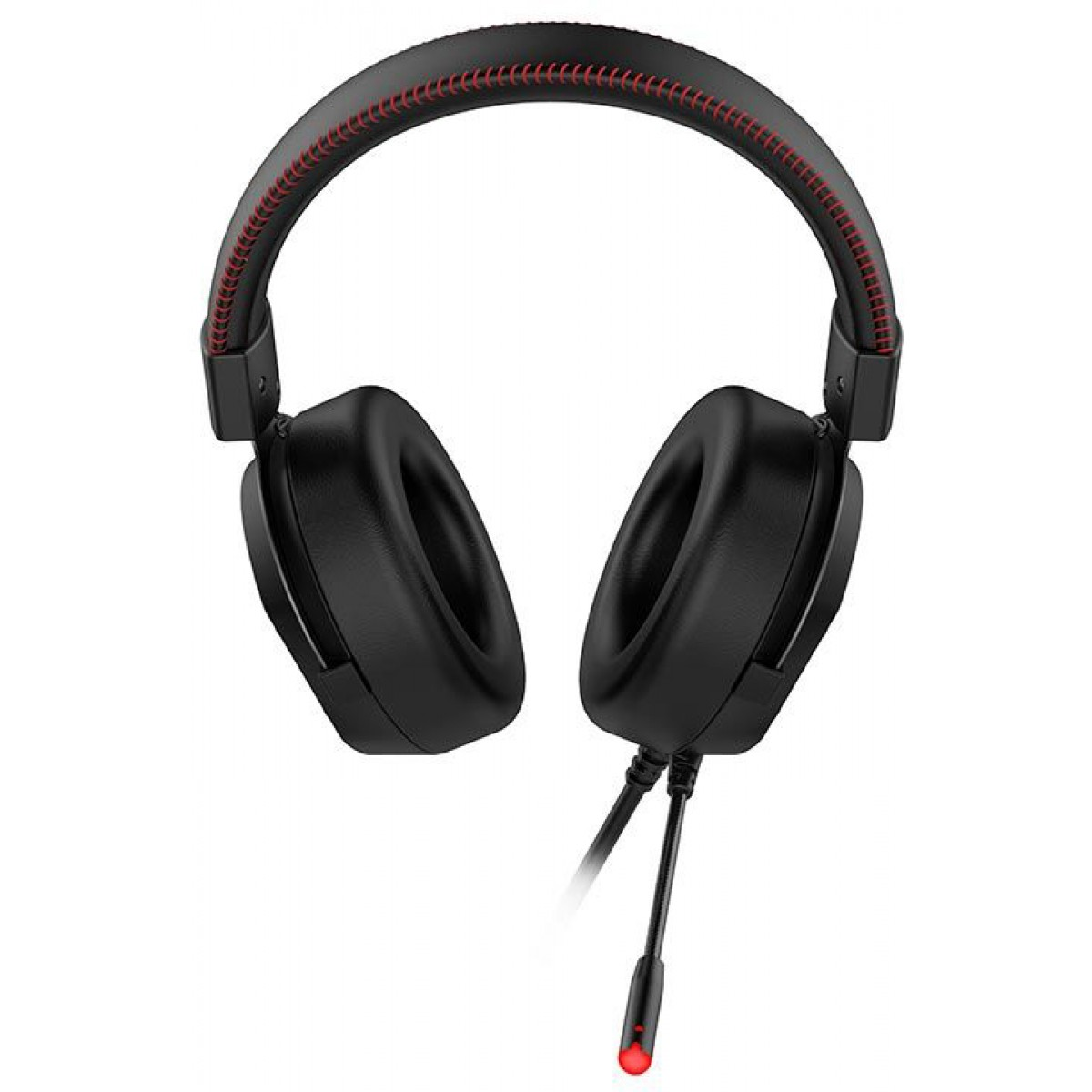 Headset Gamer Havit H2006U, USB Áudio 7.1, Black-Red