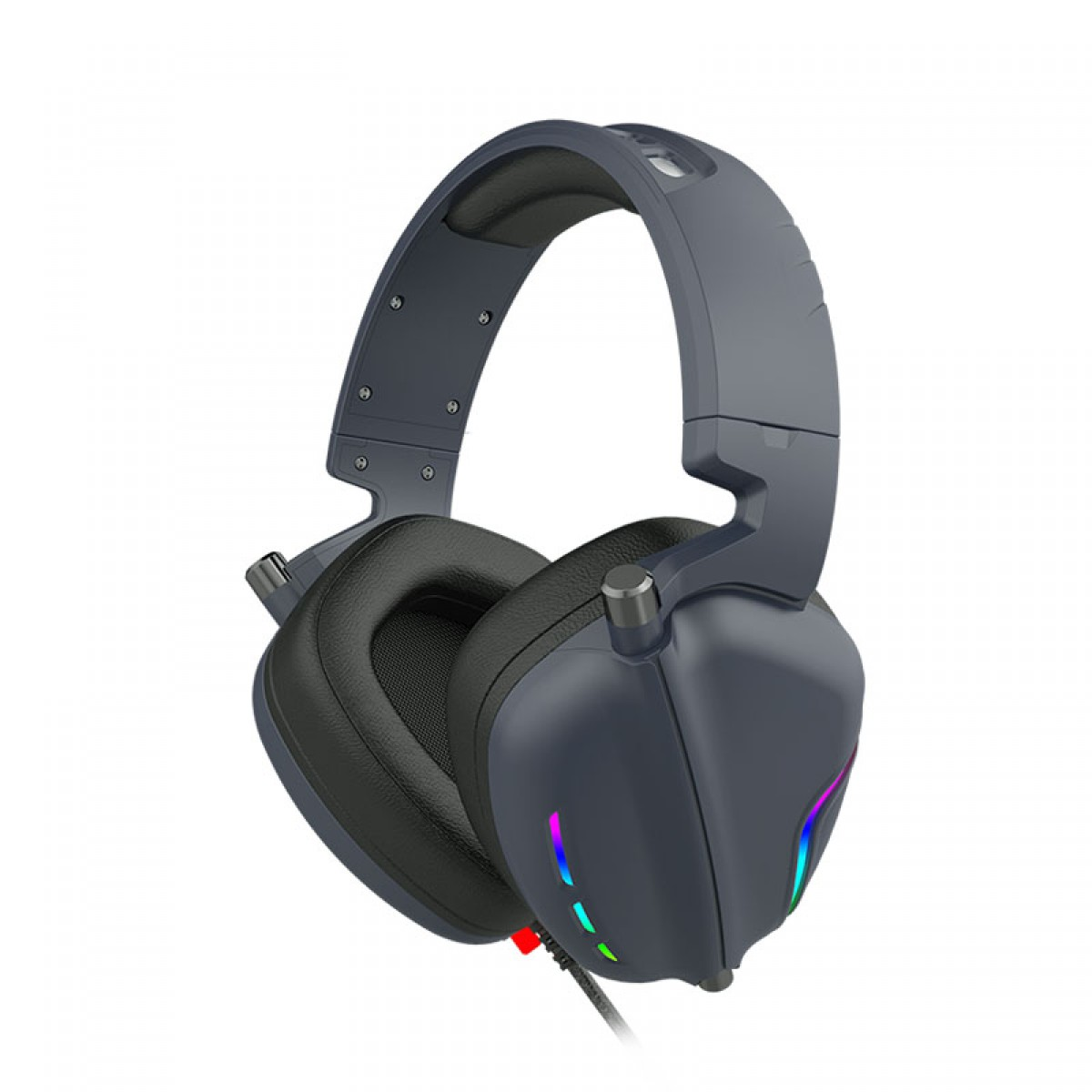 Headset Gamer Havit, RGB, 7.1 Surround, Black, H2019U