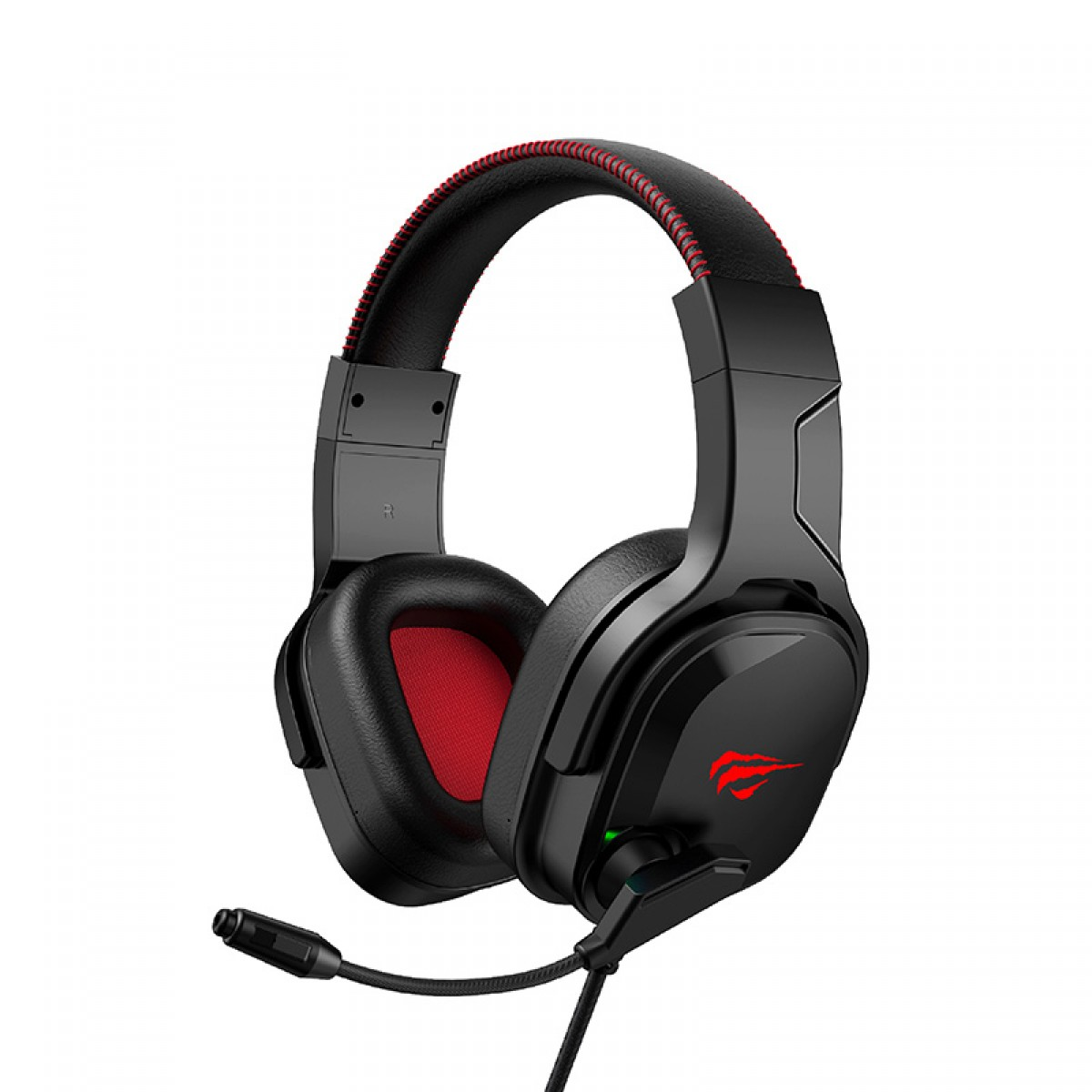Headset Gamer Havit, RGB, 7.1 Surround, Black, H2022U