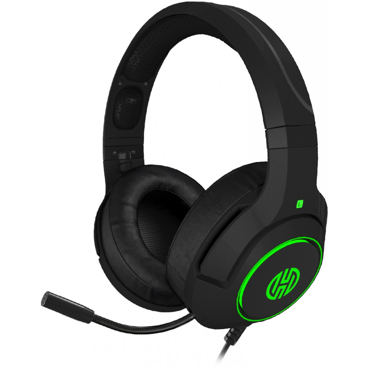 Headset Gamer Hoopson Archer 7.1, USB, Verde, LF80G