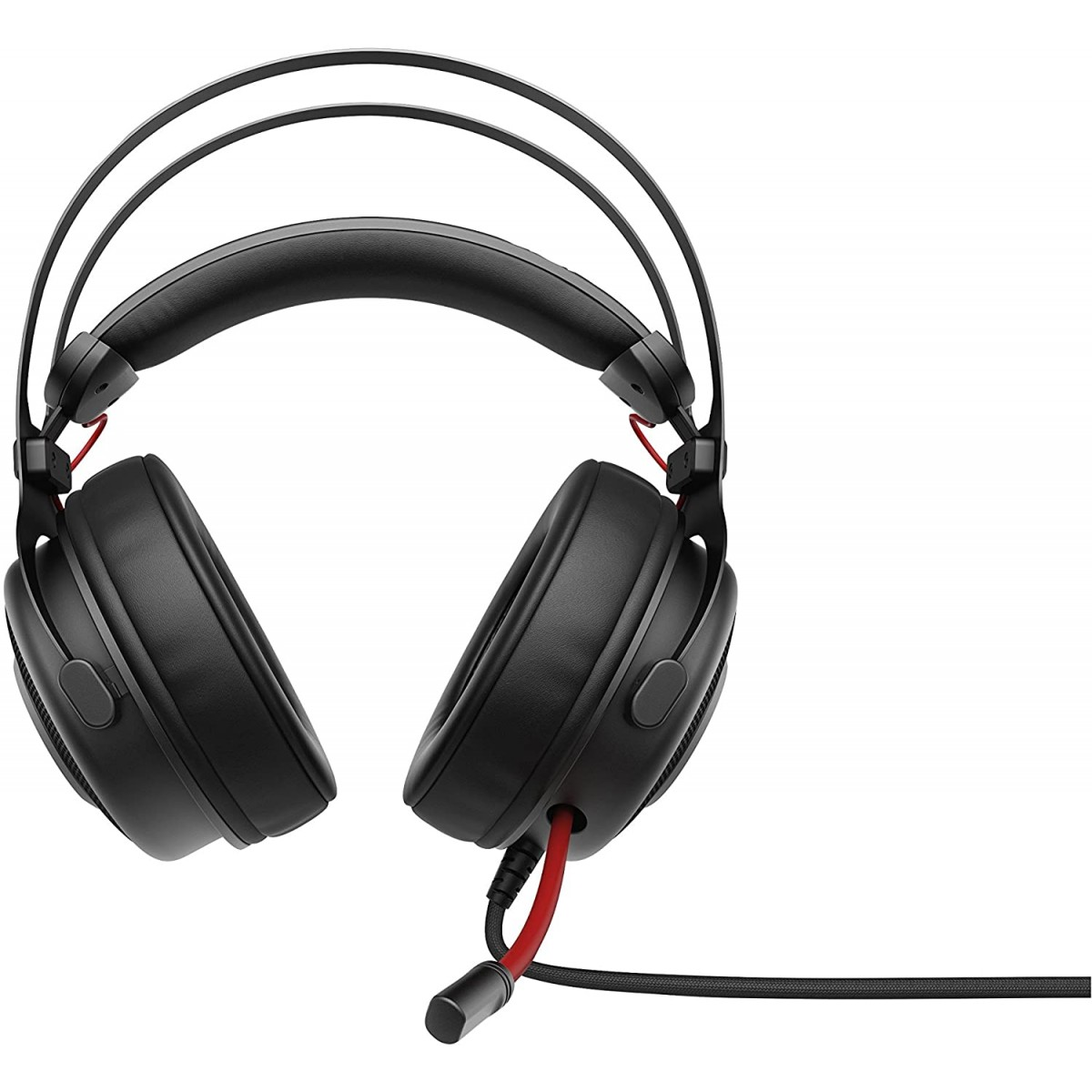 Headset Gamer HP  Omen 800, Com Fio, USB + P2, Black