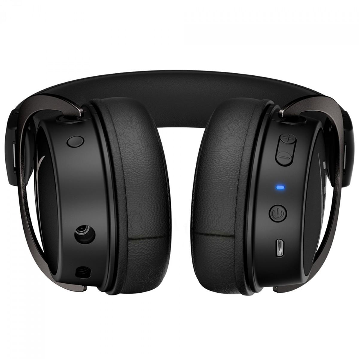 Headset Gamer HyperX Cloud Mix, Bluetooth, Drivers 40mm, Múltiplas Plataformas, P2 e P3, Black, HX-HSCAM-GM