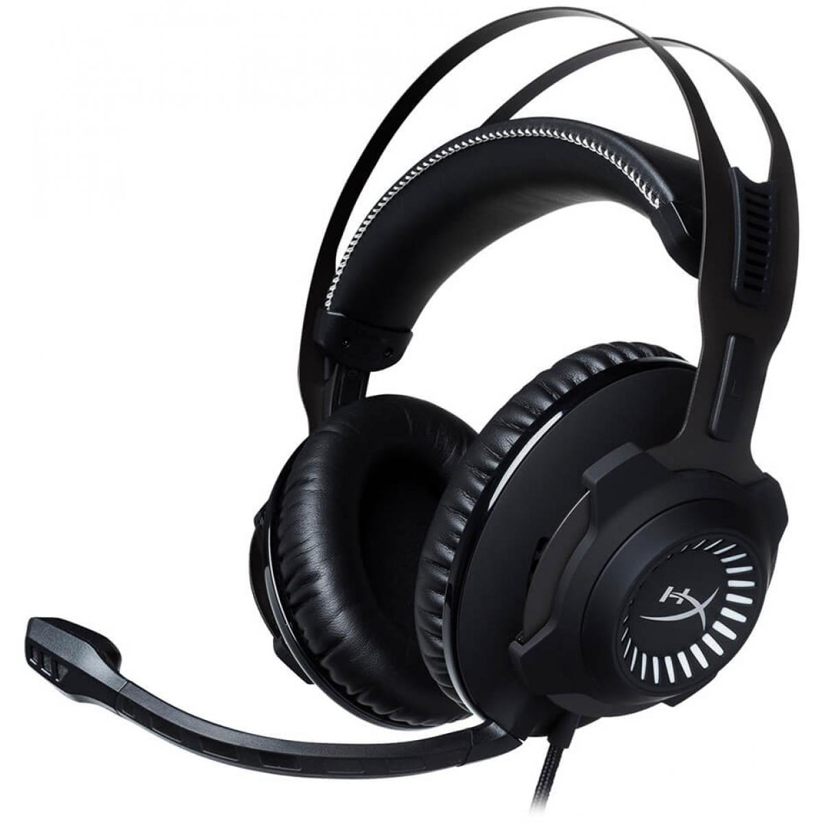 Headset Gamer HyperX Cloud Revolver HX-HSCR-GM Preto/Cinza - Open Box